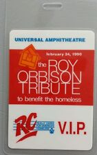 1990 2/24 BOB DYLAN LAMINATED BACKSTAGE PASS ROY ORBISON TRIBUTE