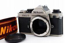 【NEAR MINT】Nikon FM2/T (titanium) 35mm SLR Film Camera from Japan #405