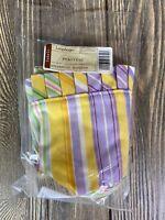 Longaberger Fabric Basket Liner Picket Pal Easter Stripe 23197234