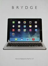 "Brydge 12.9 Bluetooth Keyboard for 12.9"" Apple iPad Pro Tablet Wireless Computer"