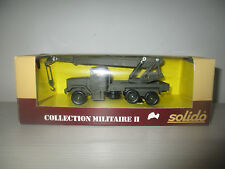 KAISER JEEP GRUE COLLECTION MILITARE I N°6070 SOLIDO SCALA 1:50