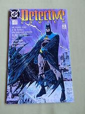 BATMAN DETECTIVE COMIC -DC -USA  -MAY 1989  #600 - PART 3 (BLIND JUSTICE)  - VG