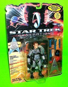 STAR TREK Generations Captain JAMES T KIRK Playmates Action Figure Space Helmet