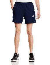 Mens New Adidas Chelsea Climalite Shorts Running Gym Fitness - Black Navy Grey