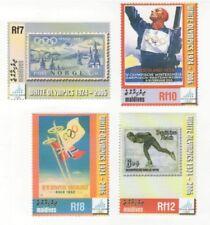 Maldives - Winter Olympics 2006 Stamp - 4v MNH