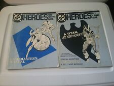 m67) DC Heroes Role Playing Game Masters Manual, A Titan Nevermore