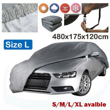 Heavy Duty Waterproof Full Car Cover Cotton Lining Scratch Proof  Large Size L