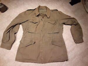 WW2 US Army M1943 M43 OD Green Field Jacket Size 36R