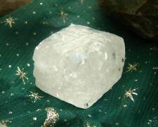 ONE NEW WHITE ICE ELESTIAL MOLDAVITE CALCITE CRYSTAL RECORDS!