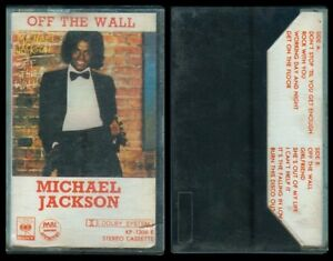 Philippine MICHAEL JACKSON Off The Wall CASETTE TAPE