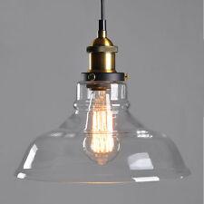 Glas Hängeleuchte Industrie Vintage Retro Hängelampe Lampe Loft Edison Lampen DE