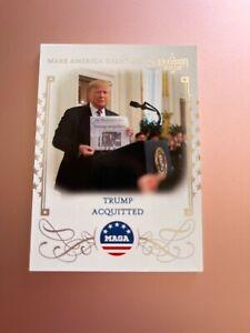 2020 POLITICAL DECISION PREMIUM CARD MAGA M13 TRUMP ACQUITTED