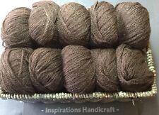 ROWAN Lima Knitting Crochet Yarn 895 Brazil Dark Brown Pack 10 Balls 50g