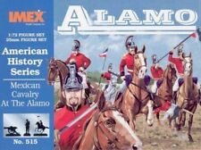 Mexican Cavalry at the Alamo Imex 1/72 Scale Plastic Toy Soldiers #515