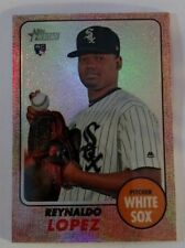 2017 Topps Heritage High Number Chrome Refractor #529 Reynaldo Lopez CWS Rookie