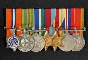 WW2 South African Police Star for Merit Group, Africa Campaign, POW