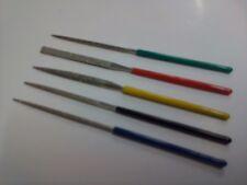 5- teiliges Mikro Diamant-Feilen Set Ideal für feine Bastelarbeiten Minifeilen