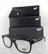 New Authentic Mont Blanc Eyeglasses Mb 680 001 Black Frame 54Mm 0680