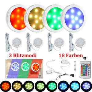 LED Unterbauleuchte RGB Vitrinenbeleuchtung Möbel Regalbeleuchtung Schrank Küche