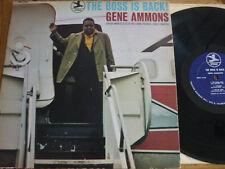 LP  Gene Ammons   The boss is back    Prestige     USA