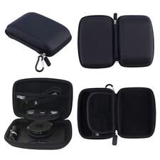 For TomTom Rider 550 Hard Case Carry With Accessory Storage GPS Sat Nav Black