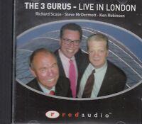 The 3 Gurus Live in London Robinson McDermott Scase CD Audio Management Business