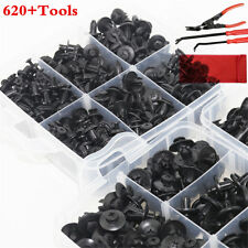 620Pcs Fastener Clips With 3Pcs Remover Repair Tools Set Universal With Box