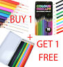 20Pc ADULT COLOURING BOOK PENCILS Anti-Stress HIGH QUALITY Artist Colour Therapy