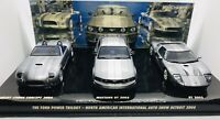 Minichamps 1/43 Ford Concept 3 Cars Set - Cobra 2004/Mustang GT 2005 402058000