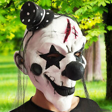 Creative Horror Clown Mask Halloween Xmas Costume Latex Accessory Prop Chic