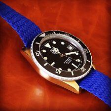 "Rare ""Bronze"" Custom Tag Heuer 1000 Professional Divers Men's Watch Blue"