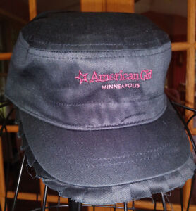 American Girl Retired 2007 PINK LOGO Baseball CAP