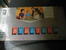 Vintage 1962 Stratego Milton Bradley Board Game Complete