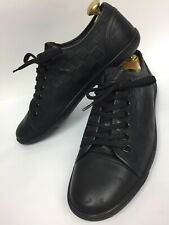 Authentic Louis Vuitton Brooklyn Leather Sneakers Trainers Damier Ms 0174 Size 8