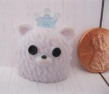 """LaLaLoopsy MINI 3"""" Doll IVORY ICE CRYSTALS PET SNOW WHITE BEAR TARGET EXCLUSIVE"""