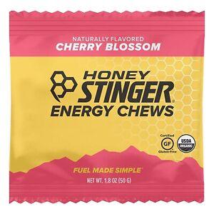 Honey Stinger Organic Energy Chews Cherry Blossom- 12 Pack BB July 18, 2022