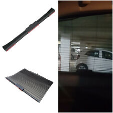 Retractable Car Side Window Baby Sun Shade Shield Cover Roll Curtain Visor Black