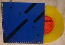 "U2 11 O'clock Tick Tock / Touch CBS 8687  YELLOW VINYL 7"" Single  Irish Release"
