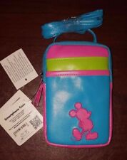 NWT Disney Mickey Mouse Smartphone Case Crossbody D-Tech  Blue, Green, Pink
