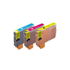 3 COLOR Premium Ink Set for Canon Series CLI-221 iP4600 iP4700 MP560 MP620 MP640