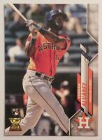 2020 Topps Series 1 Yordan Alvarez #276 RC Rookie Missing Topps Logo Foil Error