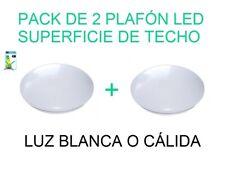 Plafón LED superficie de techo Ossun Luz blanca o cálida 20W Bajo consumo 25000h