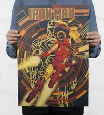 Iron Man J section / classic movie poster / kraft paper / decoration