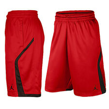 NIKE JORDAN KNIT BASKETBALL SHORTS MEN MEDIUM NWT 846753 RED NEW