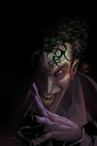 """Mike Deodato Official NFT """"Crazy"""" [1 in the world / Proof of Authenticity] JOKER"""