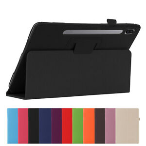 """For Samsung Galaxy Tab S6 10.5"""" T860 T865 Leather Stand Smart Tablet Case Cover"""