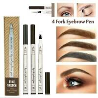 Eyebrow Tattoo Pen Waterproof Fork-Tip Patented Microblading Makeup ink sketch..