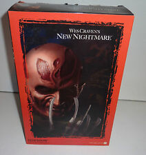 wes cravens new nightmare freddy krueger 12'' sideshow collectibles 2004 new