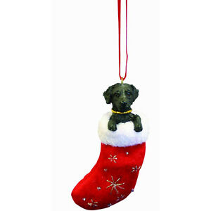 Black Labrador Little Pals Ornament