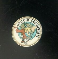 Pin's Objectif Tintin ETAT NEUF